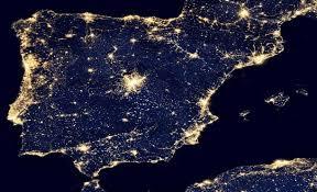 Resultado de imagen de españa via satelite