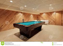 basement pool table. Contemporary Basement Pool Table In Basement On Basement Table