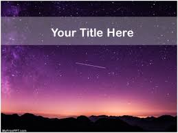 Free Astronomy Ppt Template Download Free Powerpoint Ppt