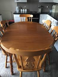 dining table and 4 6 chairs