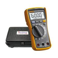 Fluke Tester Comparison Chart Amazon Com Fluke 117 Hd Handheld Multimeter With Hard Case