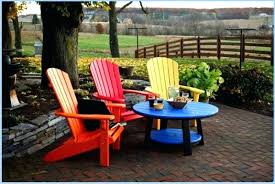 chair plastic and table set beautiful chairs tables adirondack side