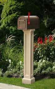 residential mailboxes and posts. Decorative Residential Mailboxes | Bradford Mailbox Post By Mayne And Posts