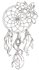 Dream Catcher Tattoo Stencils New Dreamcatcher Tattoo Design 23