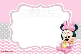 baby mickey mouse invitations birthday free printable disney baby shower invitations drevio invitations