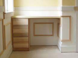 built in desk family room storage unit