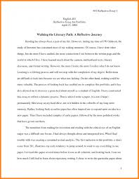 writing a reflection how to write reflective essay using   a reflective essay toreto co how to write reflection in writing looking for ideas example image