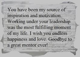 Teacher Message Farewell Message For A Teacher And Mentor Owlcation