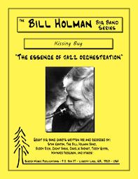 Green Dolphin Street Chart Kissing Bug Arr Bill Holman