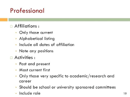 Affiliation In Resume 2 Professional Affiliation Resume Examples