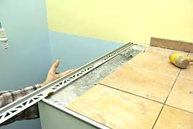 countertop metal edge metal edge trim metal tile edging installation laminate metal edge trim metal edge