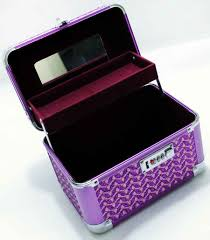 purple make up vanity box gift in india