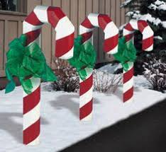 Big Candy Cane Decorations Landscape Timber Candy Cane PlansMake one candy cane or make 9