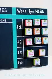 Chore Carts Chore Board With Work For Hire Chore Board Chore Chart