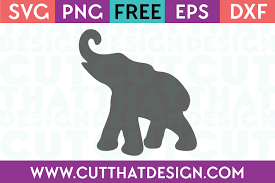 Free svg image & icon. Free Svg Files Elephant Archives Cut That Design