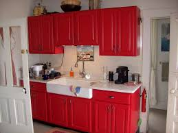 kitchen red kitchen accessories ideas red stainless steel floor lamp floating wall display racks exposed