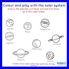 Solar System Worksheets For Kindergarten Free Worksheets Library ...