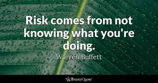 Investment Quotes Custom Risk Quotes BrainyQuote