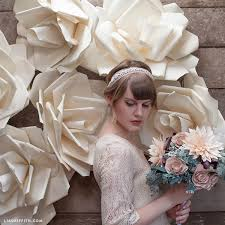 Paper Flower Wedding Backdrops Video Tutorial Jumbo Paper Flower Wedding Backdrop Lia