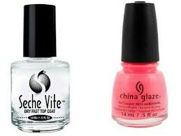 seche vite dry fast top clear nail coat