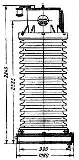 Реферат Измерительные трансформаторы тока ru В звеньевых трансформаторах тока первичная обмотка сцепляется с кольцевым сердечником как два звена цепи все вместе несколько напоминает цифру восемь