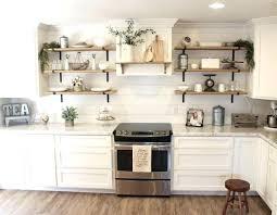 white kitchen open shelving hanging open shelving hanging open shelves for plant white floating shelves kitchen