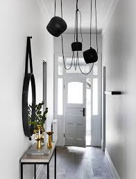 black hallway table. Our FAVOURITE HALLWAY In All Of Melbourne .possibly Australia + Oceania Too! Black Hallway Table