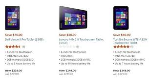 Microsoft Specials Microsoft Store Chops Prices On Windows 8 1 Tablets Zdnet