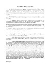 19 Purchase Agreement Examples Pdf Word Examples