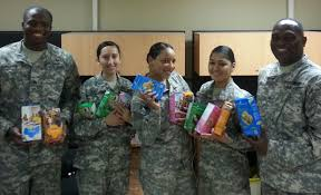 Girl scout cookies to troops