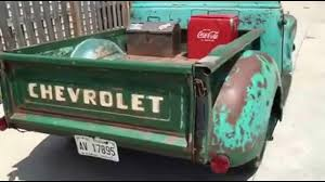 1954 Chevrolet 3100 -PATINA SHOP TRUCK ON S10 CHASSIS- FOR SALE ...