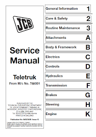 Jcb 2 0 2 5 3 0 3 5d Tlt Lift Teletruk Service Manual