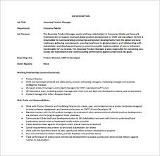 12+ Product Manager Job Description Templates - Free Sample, Example ...