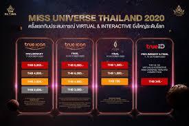 MISS UNIVERSE THAILAND 2020 The First 5G... - Miss Universe Thailand