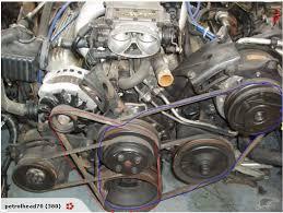 similiar gm 305 v belt routing keywords need help 86 iroc belt sizes third generation f body message · chevy 454 engine belt diagram