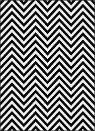 home design   cool black and white chevron rugs