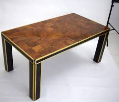 italian lacquer furniture. Vintage Italian Lacquer \u0026 Walnut Dining Table By Willy Rizzo Furniture