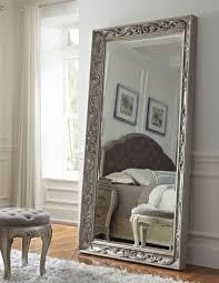 silver floor mirror. Rhianna Silver Patina Floor Mirror A