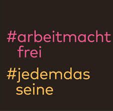 Arbeitmachtfrei Geschichtsvergessene Nutzen Hashtags Im Nazi