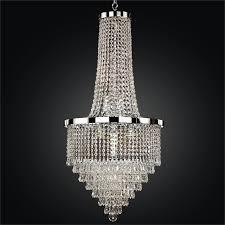 spellbound glow crystal grand foyer chandelier by glow lighting