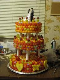 Fresh Fruit Three Tier Wedding Cake 9 Steps