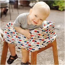 skip hop take cover ping cart high chair cover dotsi