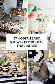 37 modern baby shower décor ideas that really inspire