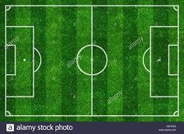 grass soccer field. Soccer Field Top View With Green Natural Grass