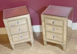 mirror design ideas double cheap mirrored bedside cabinets top quality  brown wood materials combination outstanding.