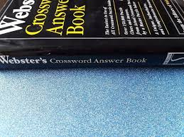 webster s crossword answer book