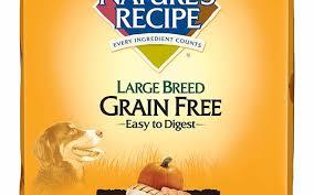 amazon nature s recipe large breed grain free dry dog food