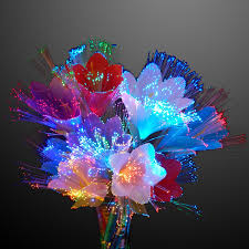 Fiber Optic Blossom Led String Lights Amazon Com Rainbow Led Fiber Optic Flower Set Of 2
