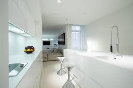 all white kitchen designs. Delighful All Modern White Kitchen Design With Eatin Bar With All White Kitchen Designs O