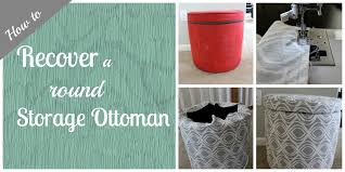 Storage Ottoman Plans How To Make A Round Storage Ottoman